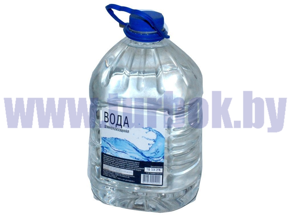 Вода дистиллированная, канистра 4 л