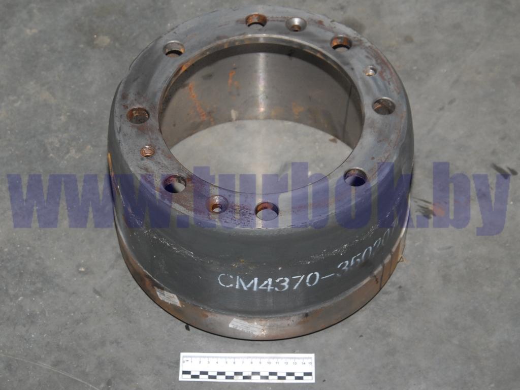 Барабан тормозной задний МАЗ-4370