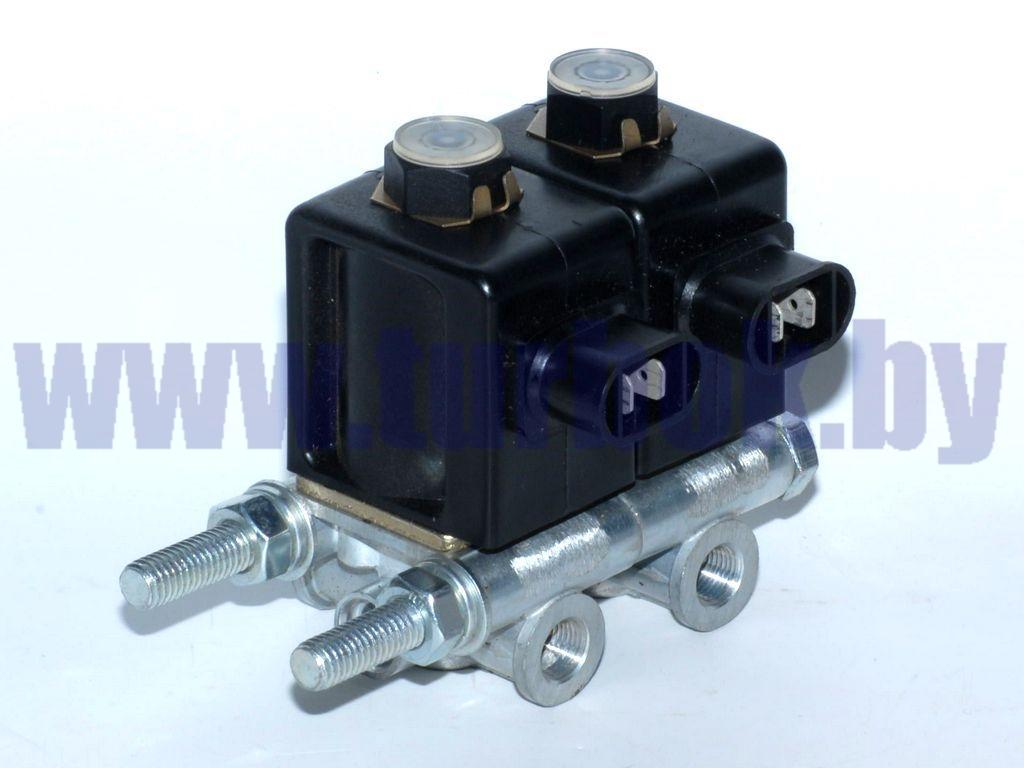 Блок электромагнитных клапанов КАМАЗ (2 шт. КЭМ-10)