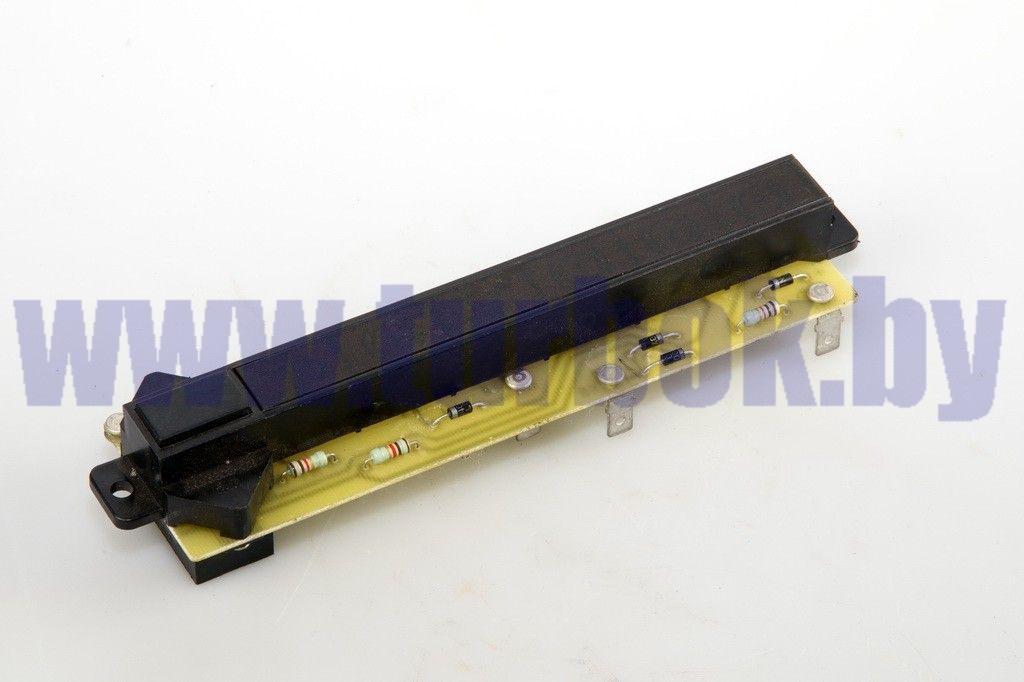 Блок контрольных ламп щитка приборов малого/2312.3803010