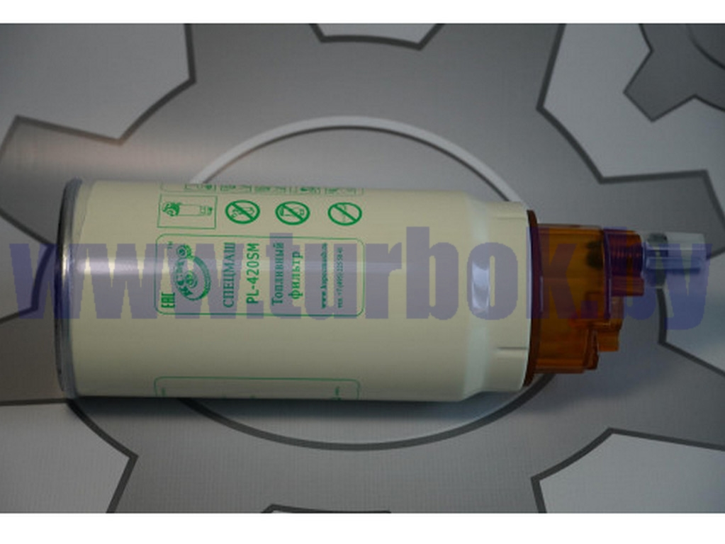 Фильтр топливный грубой очистки в сборе со стаканом