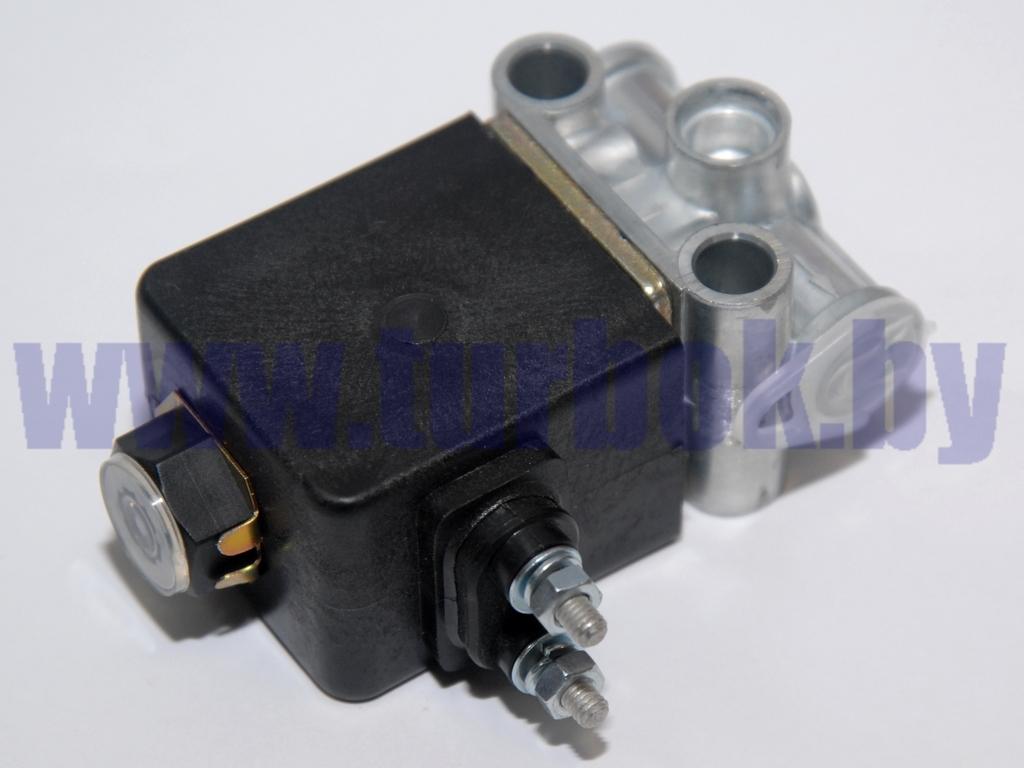 Клапан электромагнитный (НЗ,клеммы,К1/8,24В,Dу=3) БЕЛАЗ 24V