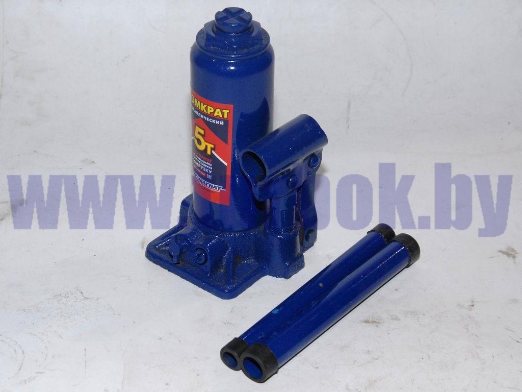 Домкрат гидравлический 05 т (1-плунжерный) 195-380 мм с предохранительным клапаном