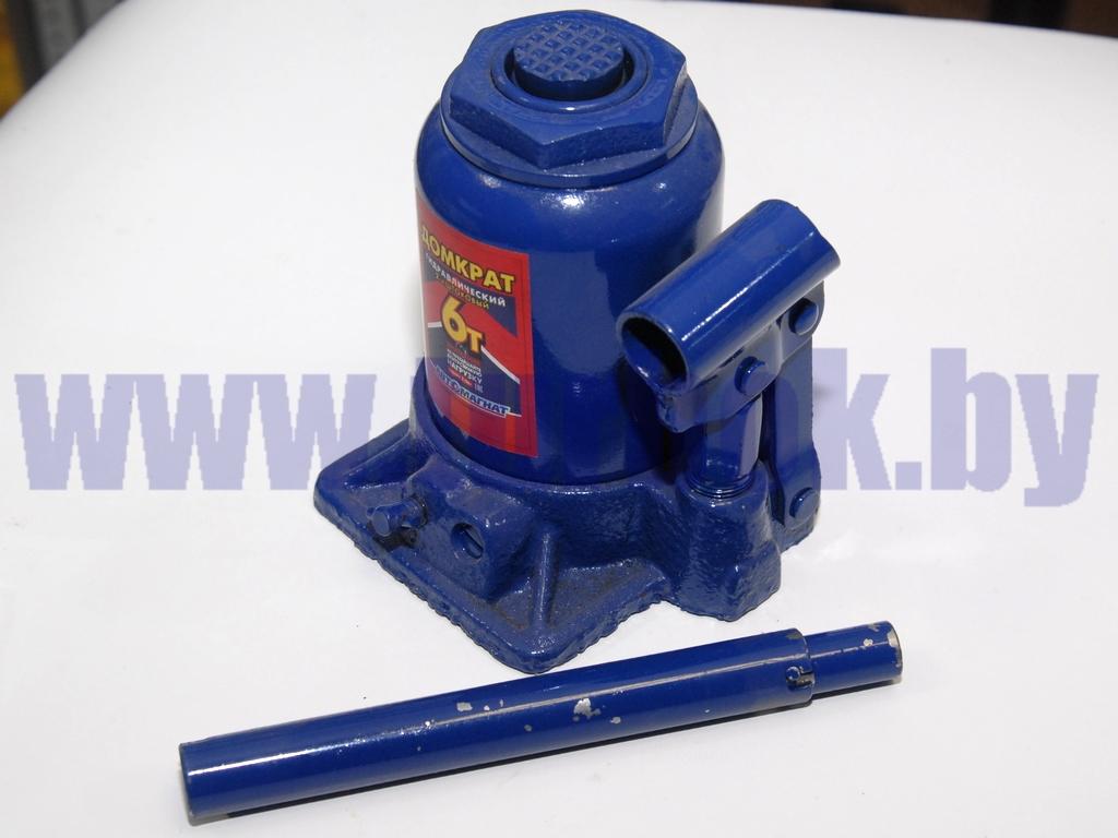 Домкрат гидравлический 06 т (2-плунжерный) 154-354 мм с предохранительным клапаном