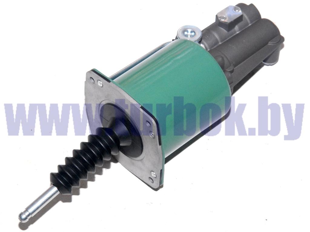 Усилитель пневмогидравлический (ПГУ) с датчиком износа М16х1,5+М14х1,5