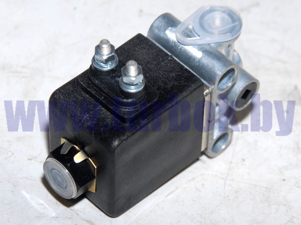 Клапан электромагнитный (НЗ,клеммы М4,К1/8,24В,Dу=3) БЕЛАЗ