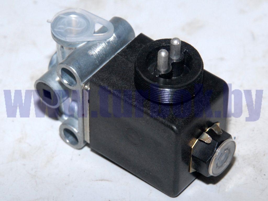 Клапан электромагнитный (НЗ,шт.р.2-конт.,М12х1,5,24В,Dу=4) МЗКТ